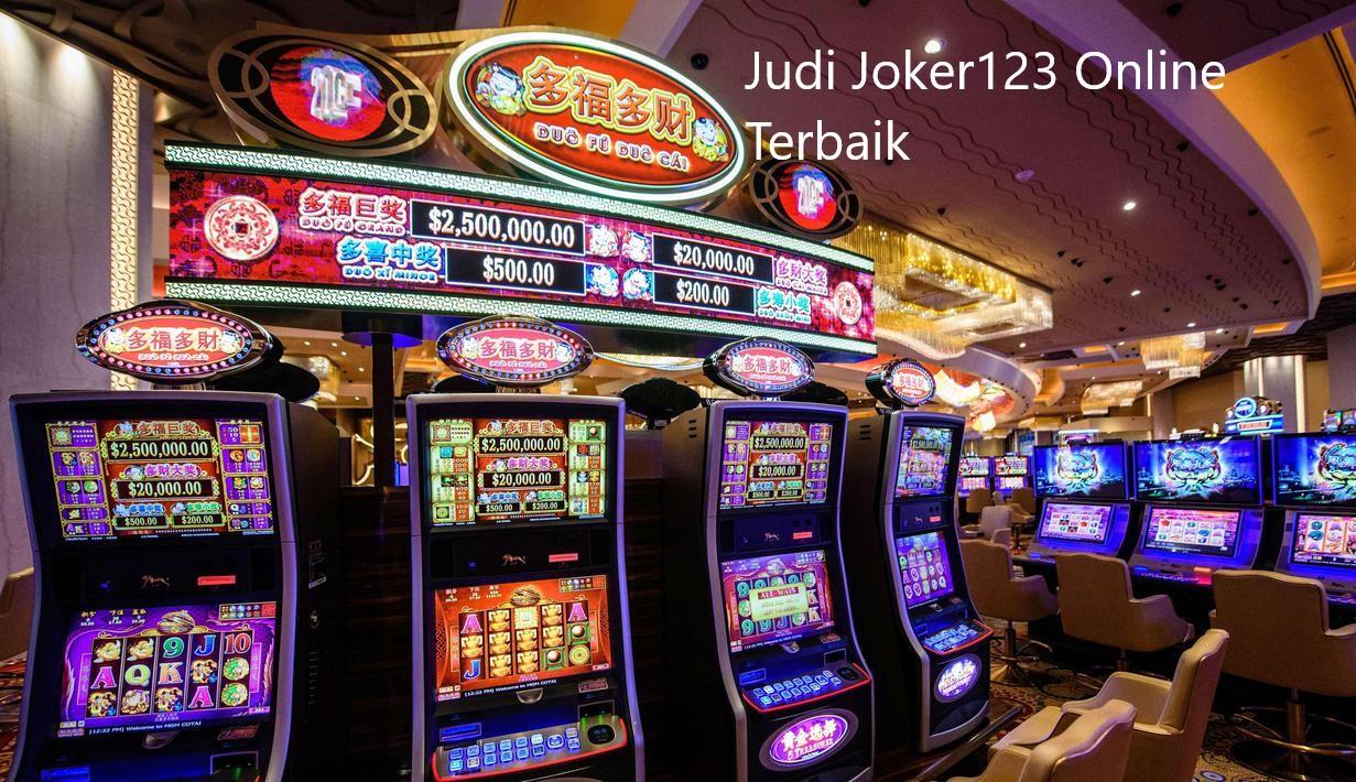Situs Joker123 Judi Slot Online Terbaru Dan Terbaik Di Indonesia