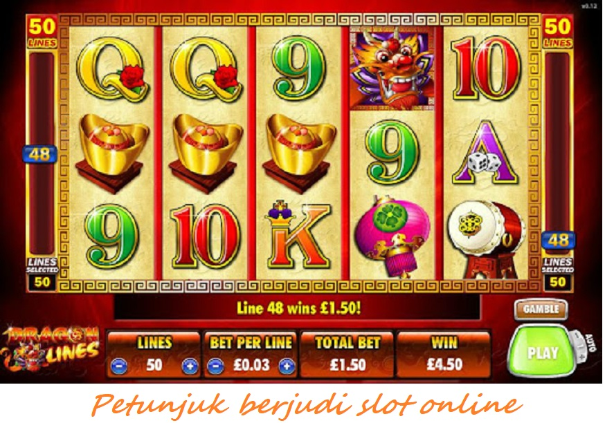 Petunjuk berjudi slot online